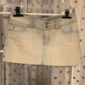 Abercrombie jean skirt